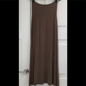 AZULES Maxi Skirt